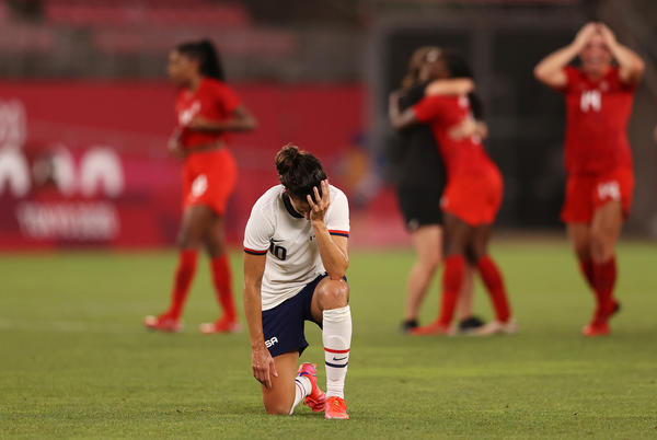Picture for The U.S. Women's Soccer Team Has Lost Its Shot At The Gold Medal