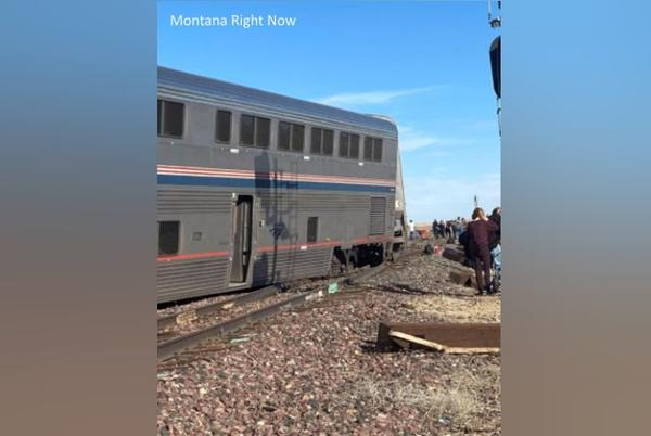 Picture for At least three dead, multiple people injured in Montana Amtrak derailment