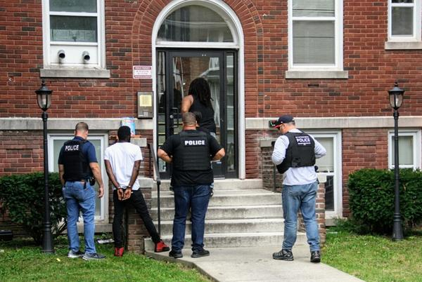 Picture for Police raid results in one arrest