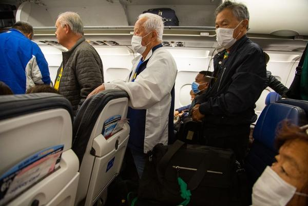 Picture for VIDEO: Passengers Sing To Anti-Mask Couple Kicked Off Flight in Florida