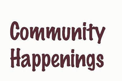 Picture for Community Happenings