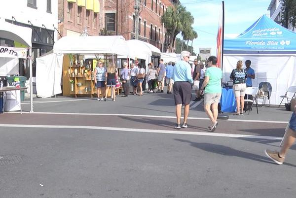 Picture for Thousands came out to enjoy the 54th annual Ocala Arts Festival