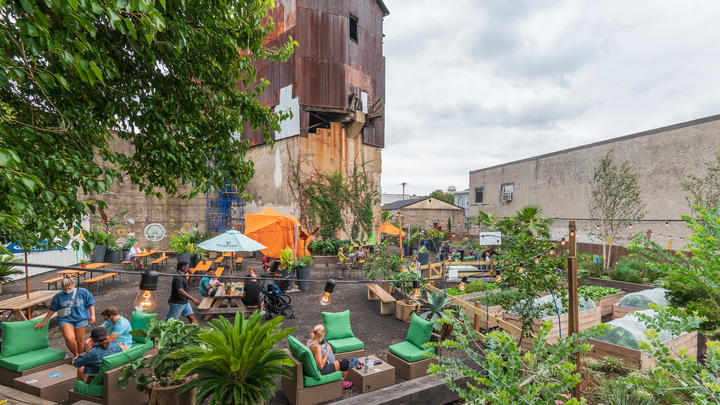 Cover for PHS Pop Up Garden in Manayunk Offers Oktoberfest and Fall Festivities