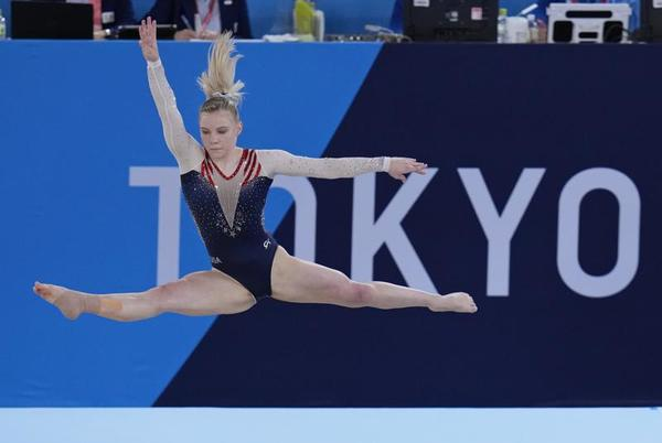 Picture for Jade Carey's long road to the Olympics ends with gold