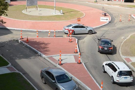 Picture for 'I think it's a good thing.' Norwich roundabout officially open for business