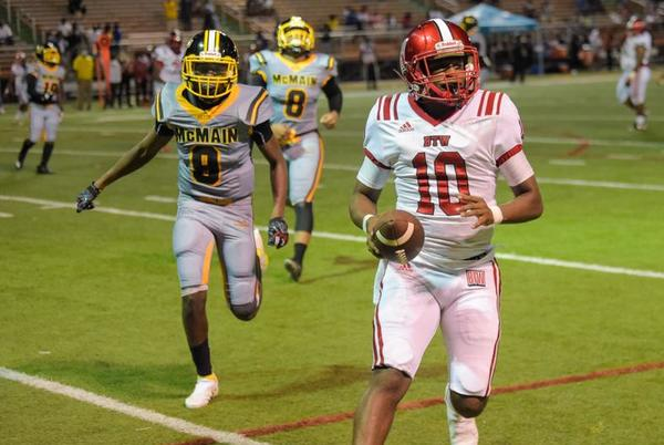Picture for Booker T. Washington tops McMain, wins first prep football game this season in Orleans Parish