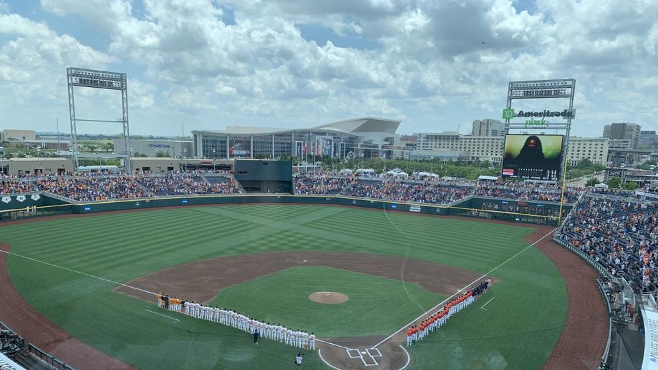 Picture for Vols fall flat against Virginia in Game 3 of 2021 College World Series