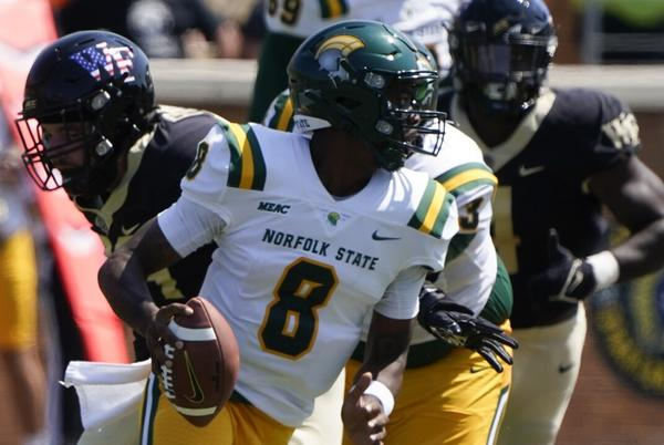 Picture for Carter approaches Norfolk State career passing mark