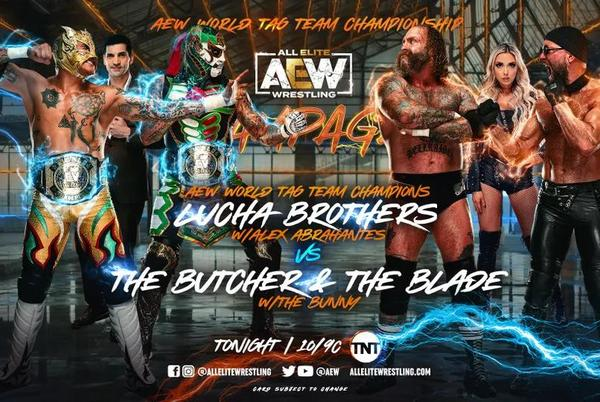 Picture for AEW Rampage Results (9/17): The Lucha Brothers Defend Against The Buctcher & The Blade