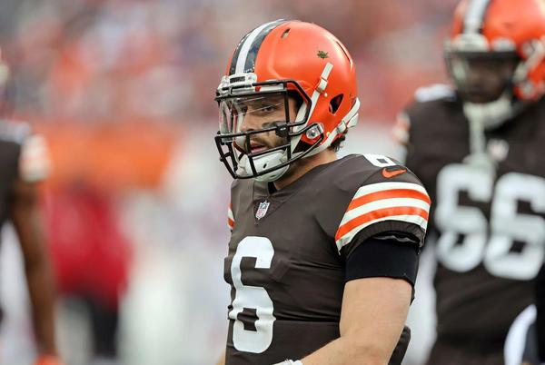 Picture for Browns quarterback Baker Mayfield: 'Our backs are up against the wall right now and I like our chances'