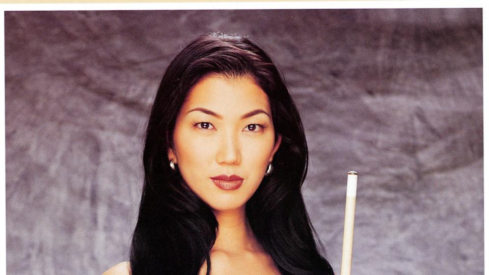 Picture for Black Widow of pool, Jeanette Lee, 49, battling stage 4 ovarian cancer