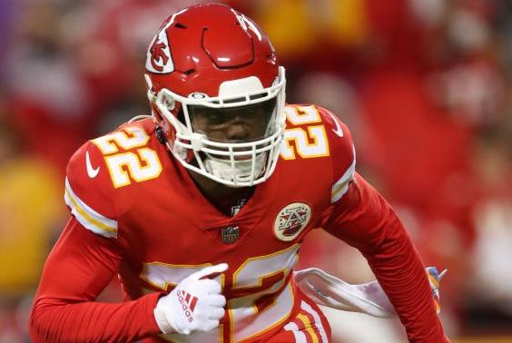 Picture for Report: Chiefs are expected to start Juan Thornhill over Daniel Sorensen
