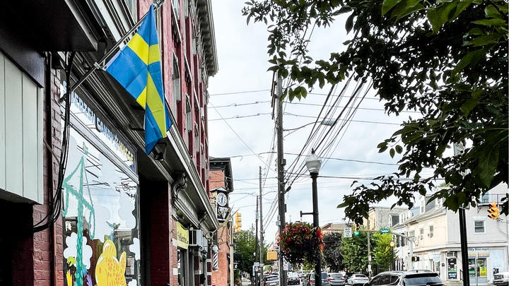 Cover for On This Charming Lancaster County Street, You'll Find The Best of Swedish Candy