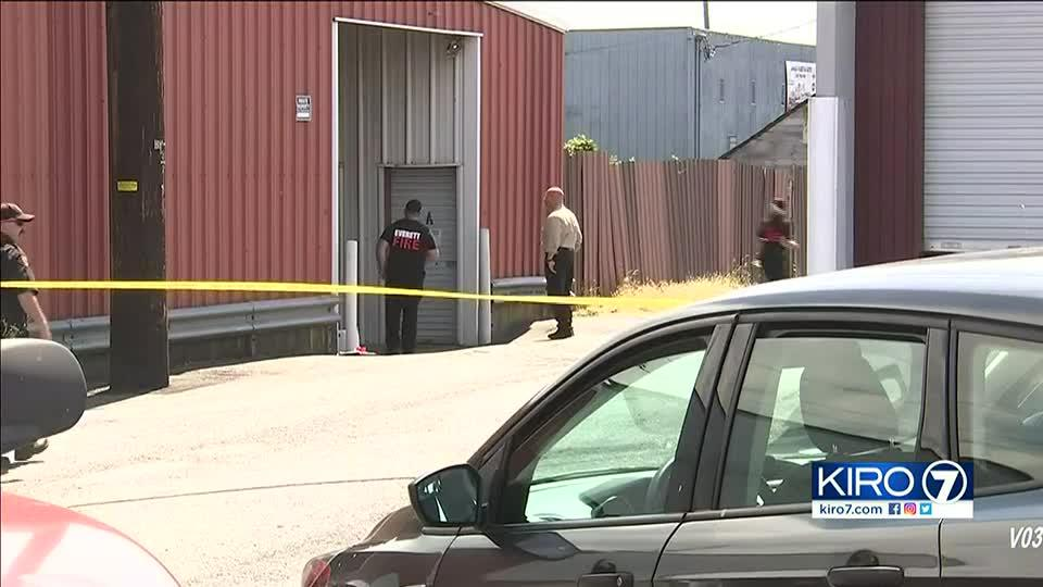 Picture for Everett authorities raid storage facility, look for squatters