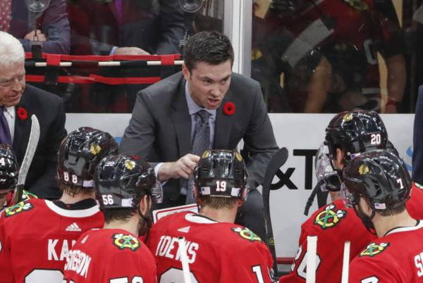 Picture for Hawks Players Speak Up About Jeremy Colliton.