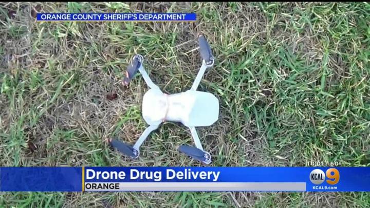 Cover for Drone Drops Drugs Into Orange County Jail Courtyard