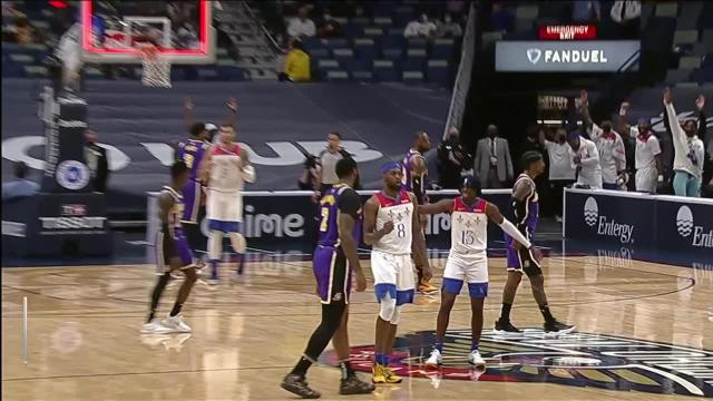 Picture for New Orleans Pelicans | Naji Marshall hits the shot with time ticking down