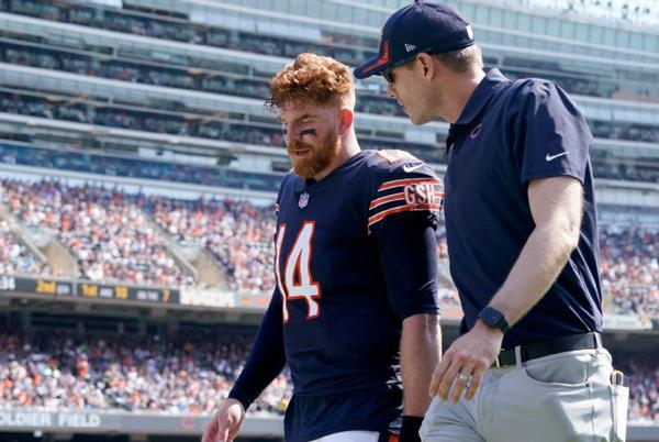 Picture for Chicago Bears say quarterback Andy Dalton remains their starter if healthy; early tests show no ACL tear