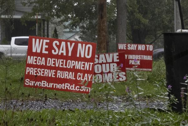 Picture for Clay residents speak out against residential removal requests by Onondaga County