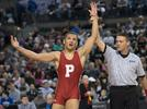Picture for State champ Brandon Green returns to Paulsboro with Va Tech wrestling camp