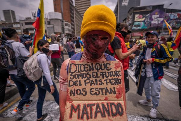 Picture for 'Police opened fire' on protesters in Colombia; UN, NGOs pressure Iván Duque