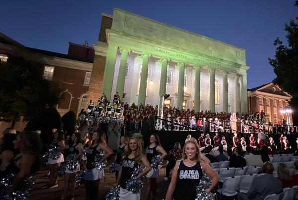 Picture for Sights and sounds from Alabama's homecoming pep rally