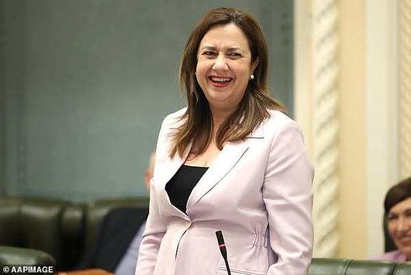 Picture for Annastacia Palaszczuk sends a chilling warning to anti-vaxxers with a photo of a watch face as her state prepares to open its borders