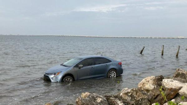 Picture for Florida Man Forgot About The Tide, Car Takes A Swim