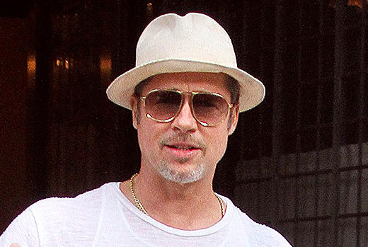 Picture for How Brad Pitt Feels About His Kids' Potential COVID Exposure At Angelina Jolie's Film Premiere