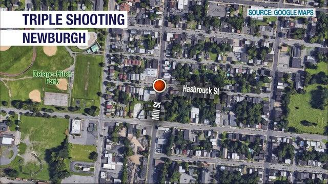 Cover for Police: 3 people hurt, including 2 critically, in Newburgh shooting