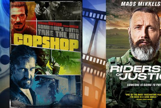 Picture for At the Movies: 'Copshop' and 'Riders of Justice'