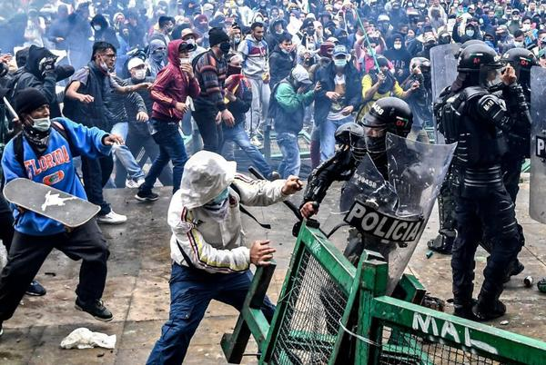 Picture for Colombia's bloody protests could be a warning to the region