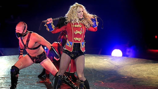 Britney Spears Triumphant Circus Era A Gallery News Break