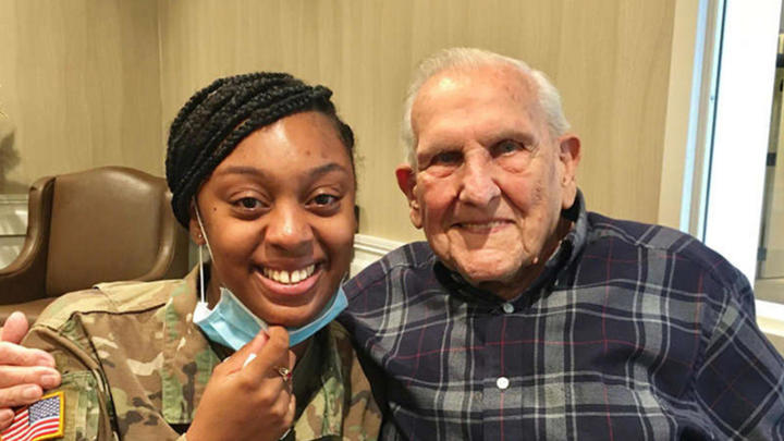 Cover for This WWII Veteran Meets Writer of Letter he's Carried Around For 12 Years