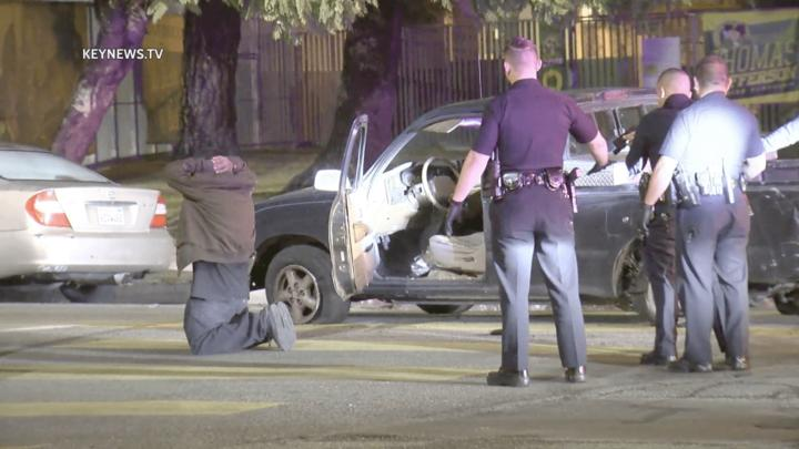 Cover for Spike Strip Ends Hour-Long Police Pursuit of Stolen Vehicle