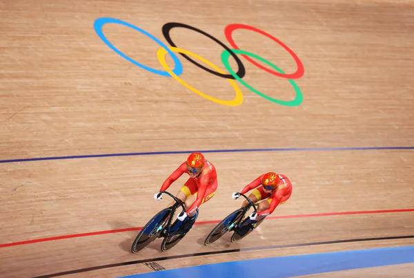 Picture for Olympics: China win women's team sprint