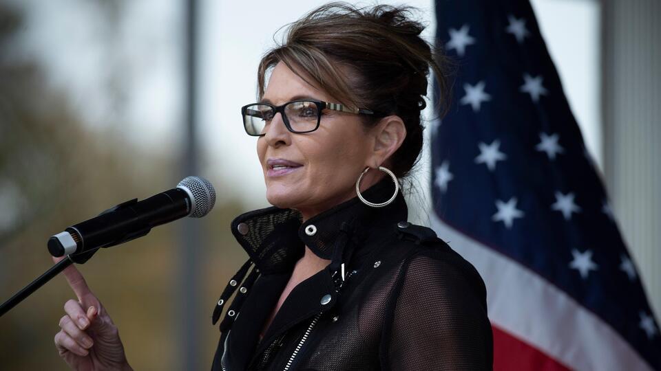 Picture for Sarah Palin hints at Alaska Senate run against Republican Lisa Murkowski