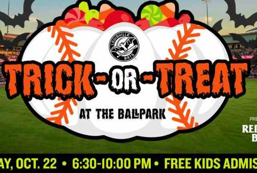 Picture for TRICK-OR-TREAT AT LOUISVILLE SLUGGER FIELD