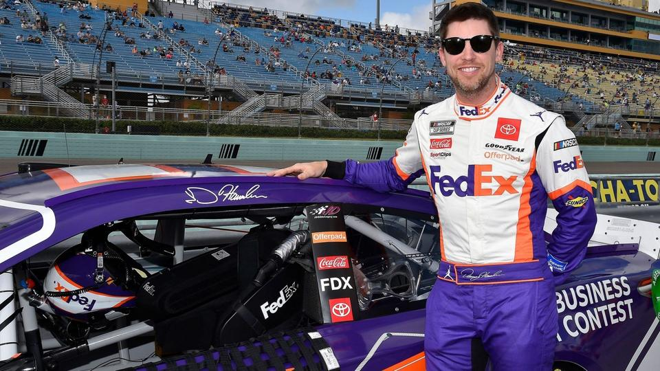 Picture for How Rich Are Points Leader Denny Hamlin, Chase Elliott and These Other Big-Name NASCAR Drivers?