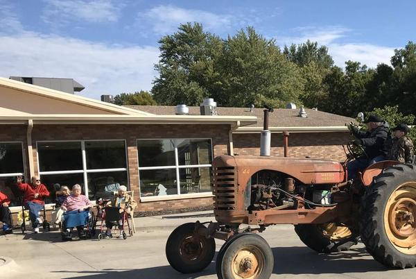Picture for Tractors ready to roll for a cause