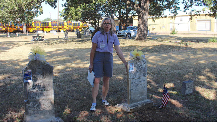 Cover for Sowers Cemetery Association in Irving gives away some secrets at their 3rd Annual Celebration