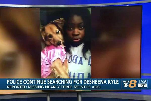 Picture for Missing Knoxville woman, Desheena Kyle