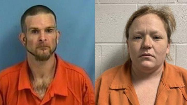 Cover for Couple accused in child rape case