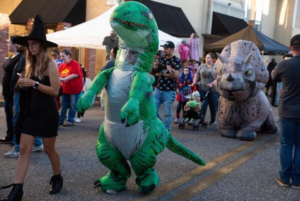 Picture for Gobblin' goblins enjoy Halloween-themed festival on Noble Street