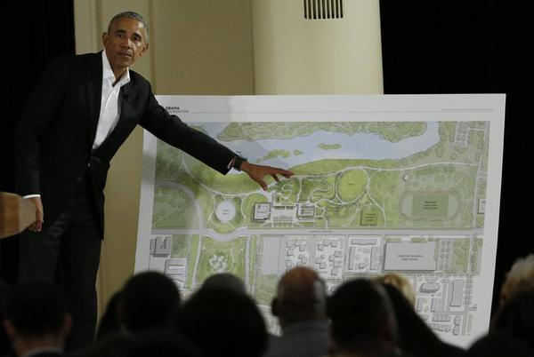 Picture for After 5 years, Obamas to break ground on Presidential Center