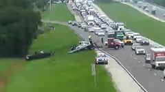 Cover for First Alert Traffic: Slowdowns on I-75 northbound at Bee Ridge