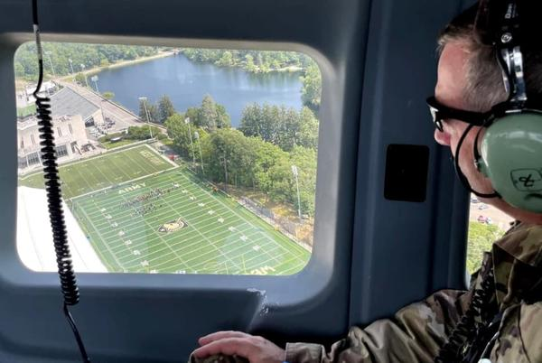 Picture for Cessna Intercepted In Temporary No-Fly Zone Over GWB Was Piloted By West Point Instructor