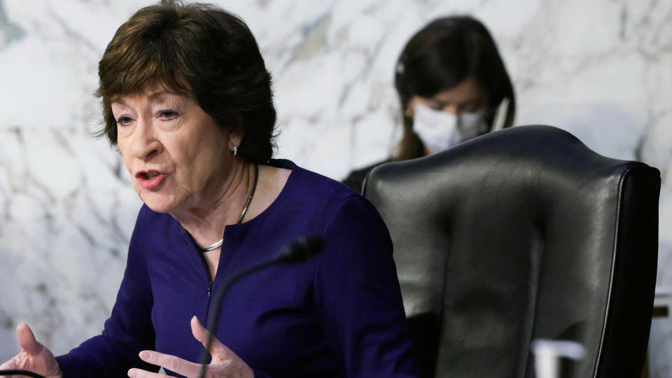 Picture for Collins says new infrastructure offer won't include gas tax hike
