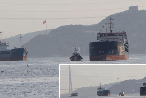 Picture for Russian, Turkish vessels collide in the Bosphorus