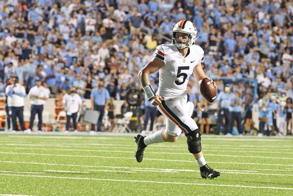 Picture for Pro Football Focus: Virginia Football's Brennan Armstrong Vs. Other ACC Star QBs